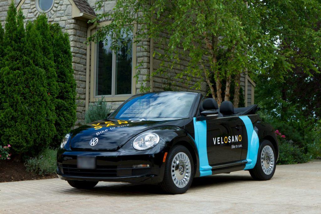 Cleveland Clinic VeloSano VW banded car