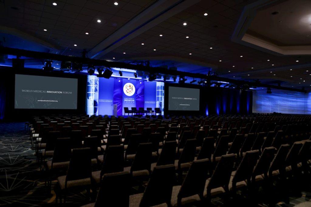 World Medical Innovation Forum stage